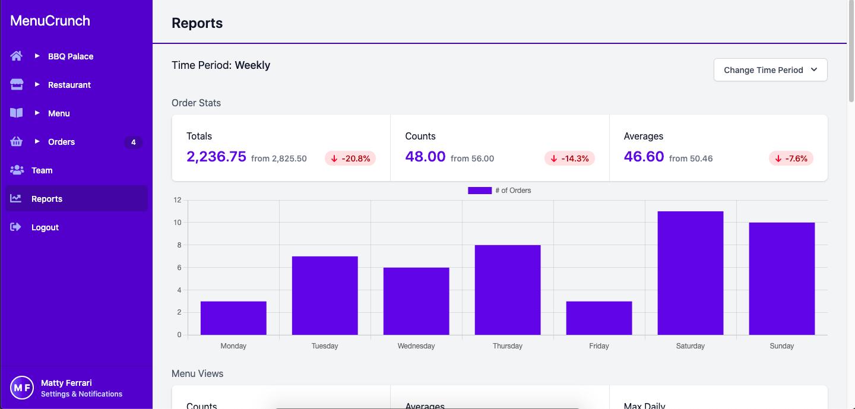 Stat Page Screenshot